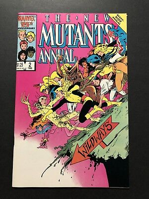 NEW MUTANTS ANNUAL #2 (1986) 1st PSYLOCKE NM- SHARP UNREAD COPY!