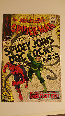 The Amazing Spider-Man #56 First App. of Captain Stacy