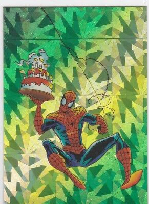 1992' marvel; Spider-Man 30th Anniversary Prism Promo P7.. card