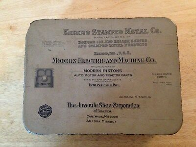 1920's Lithograph Printing Stone - One sided with three businesses and graphics