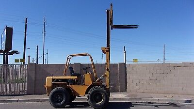 Baker 5K Rough Terrain Forklift New Tires And More Little On Ugly Side