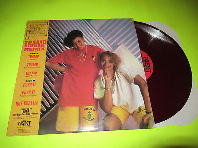 "Salt N Pepa - Tramp / Push It 12"" Red Color Vinyl"