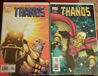 Thanos #1-12 VF/NM Starlin 1st prints