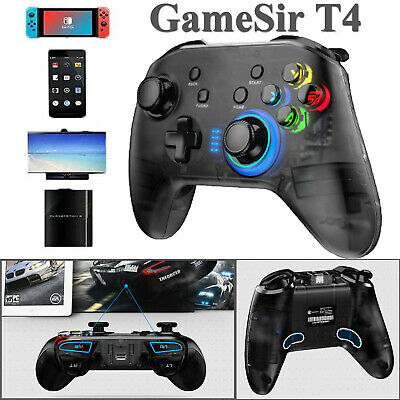 US GameSir T4 2.4GHz Wireless Bluetooth Controller Gamepad for Android/Win/PS3