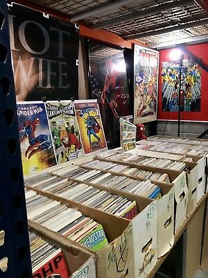 COMICS by the BOX - 300 Comic Books Lot Marvel DC Comics Only 10K Overstock Sale