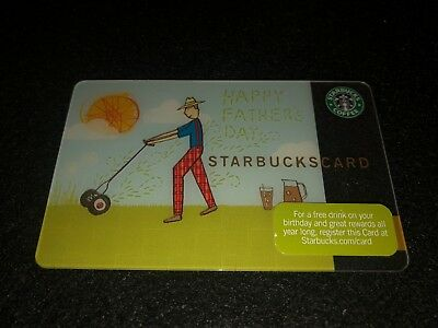 Starbucks Fathers Day CARD 2010 Old Logo!NEW!!!