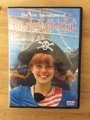 The New Adventures of Pippi Longstocking, 1988 (DVD, Full screen) *No Tax*