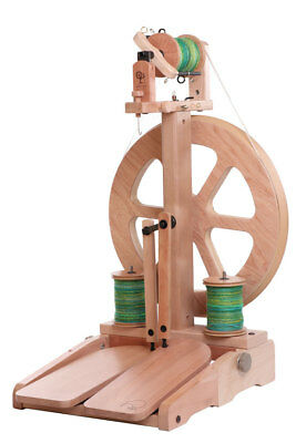 Ashford Kiwi Spinning Wheel 3 Natural (Not Lacquered) KSW3