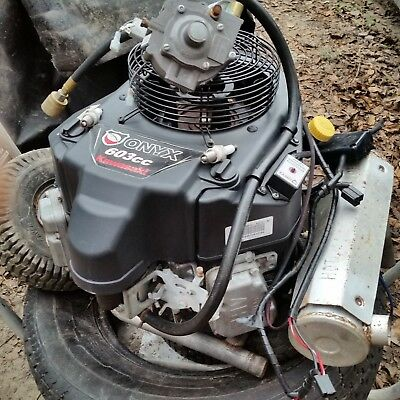 Kawasaki Onyx Electric Starter 603cc FS481V-Twin Multipurpose 14.5hp engine