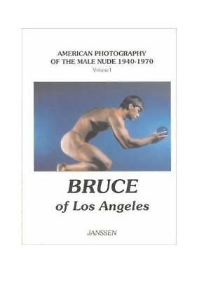 NEW Bruce Los Angeles LA American Photography Male Nude vtg 1940-70 beefcake gay