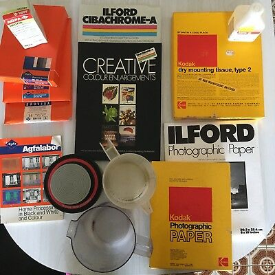 Photography Paper And Photo Developing Bulk Lot
