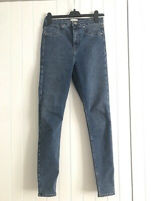 River Island Skinny High Waist Jeans 12L. Excellent condition - Flattering Fit!