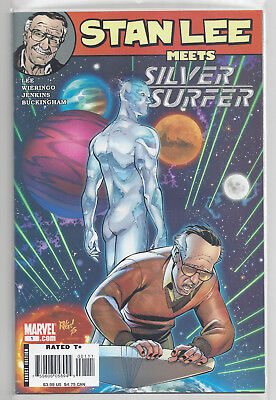 Stan Lee Meets the Silver Surfer #1 Marvel Direct Edition Space Lee Wieringo