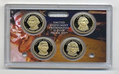 USA United States Mint Presidential $1 Coin Proof Set 2007