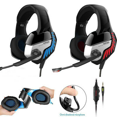 ONIKUMA K1 Stereo Bass Surround Gaming Headset For PS4 Xbox One PC with Mic