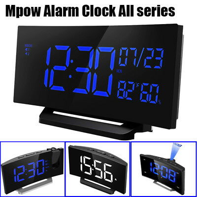 Mpow Digital Alarm Clock Snooze Alarm Clock Bedroom Home Office Christmas Gifts