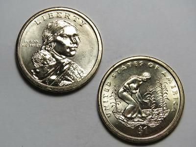 2009-P Sacagawea Native American Dollar - Uncirculated from US Mint Rolls