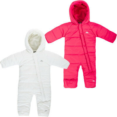 836d61e3f TRESPASS AMCOTTE BABY Winter Hooded Snowsuit Quilted Boys Girls ...