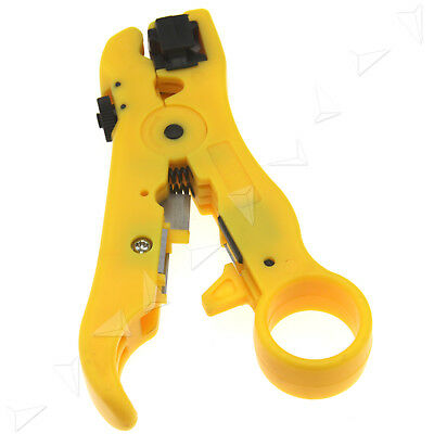 Networking Tools Rotary Coaxial Cable Wire Stripping Tool Plier RG59 RG6 RG7