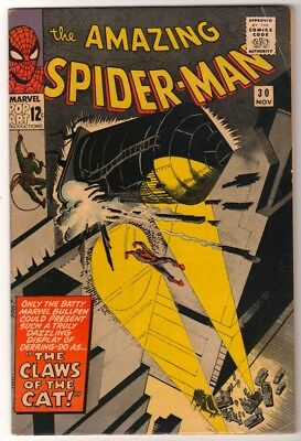 MARVEL Comics SPIDERMAN Amazing Silver age #30 1965 VGD+