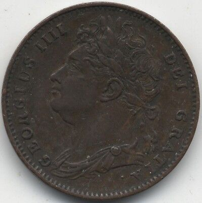1822 George IV Farthing | Pennies2Pounds