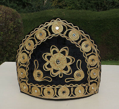 Vintage Tea Pot Cover / Tea Cosy With Mirror Detail / Work - Indian Style ?