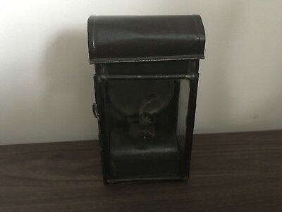 French antiques lantern with original burner - attachable system at the back