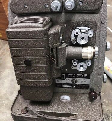 Bell and Howell 8mm Projector 253 R Working Vintage