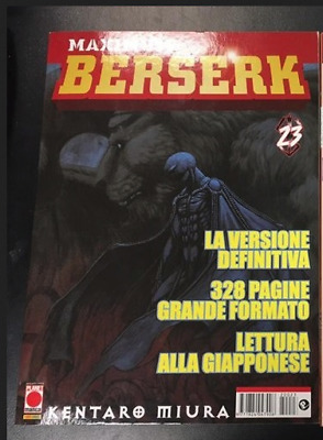 MAXIMUM BERSERK 23 edizione PLANET MANGA