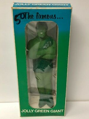 "1970s Advertising Figure 9"" Jolly Green Giant with Box"