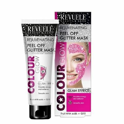 Revuele rajeunissant Pink Glitter Peel Off Mask 80ml 1 2 3 6 12 Paquets
