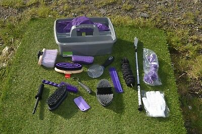 Grooming Kit &  Extras Sparkle Crop Gloves Hay Net Lead Rope And Grooming Items