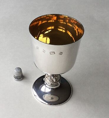 Beautiful Solid Silver Goblet - Good Size - over 170.0 grams