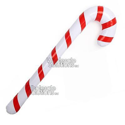 Giant Candy Cane Inflatable Blow Up Toy Boy Girl Gift Christmas Stocking Filler