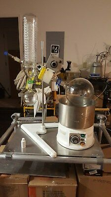 Buchi Rotary Evaporater R Model refurbished all new seals and glassware