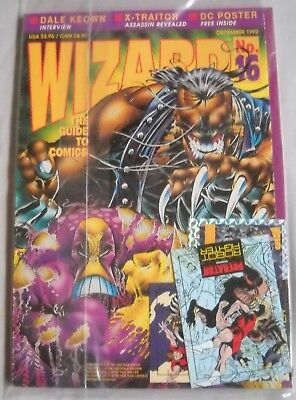 Wizard: The Guide to Comics December 1992 -#16 - With The Maxx Poster UNOPENED