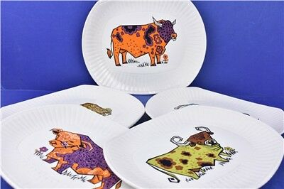 Collection of 5x Beefeater English Ironstone Pottery Ltd Plates Staffordshire