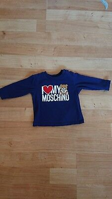 Baby Moschino Top 3-6 Months
