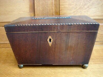 Antique Tea Caddy In Need Of Renovation.