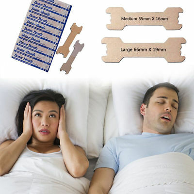 100 - 200Tan Better Breath Nasal Strips Sm/Med Or Large Right Way To Stop Snore!