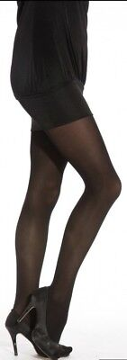 Black 40 Denier Opaque Tights (One Size,.xl,xxl)