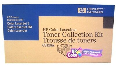 Genuine HP C3120A Toner Collection Kit (1)Sealed kit for use in HP ColorJet 5