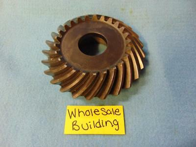 """Spiral Bevel Gear, H1V 17108, 25 Teeth, 1-3/8"""" Bore, Right Hand, 5/8"""" Pitch"""
