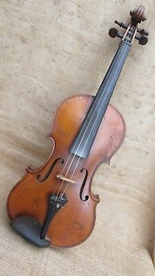 LATE 19TH CENTURY VIOLIN BY ARNOLD VOIGT Markneukirchen- Full size 4/4