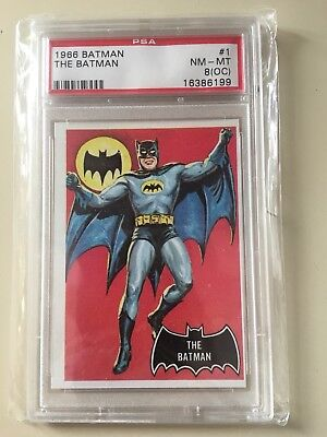 Merchandise & Promotional 1966 Batman The Batman Card #1 Grade Psa 3 #25463766
