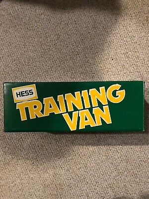 1980 Hess Training Van in Original Box with Inserts, and Instruction Card