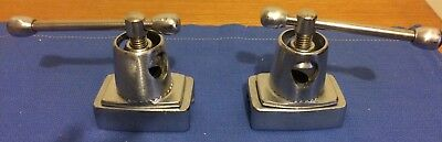 Orthopedic Systems, Inc. Clark socket O.R. table clamps.  GC, guaranteed