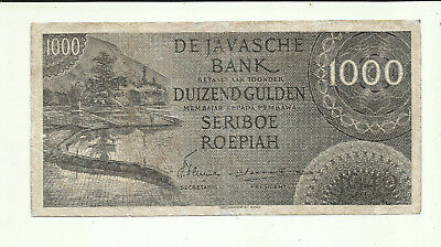 Rare 1000 Gulden FederaL 1946 Circulated ( Repair ) see enlarged image