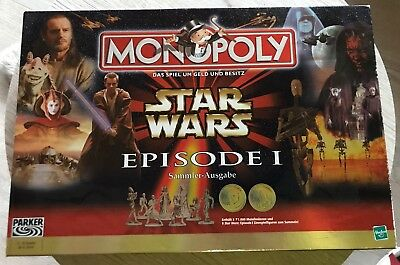 Star Wars Monopoly Episode I Darth Maul Vintage OVP