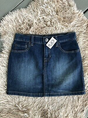 NWT Girls Childrens Place Denim Skirt Size 10